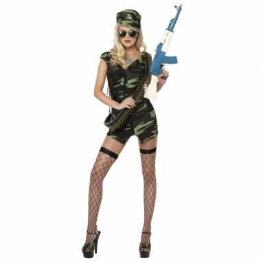 Sexy  Army jurkje dames outfit