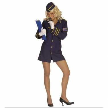 Sexy  Carnavalsoutfit Stewardess dames