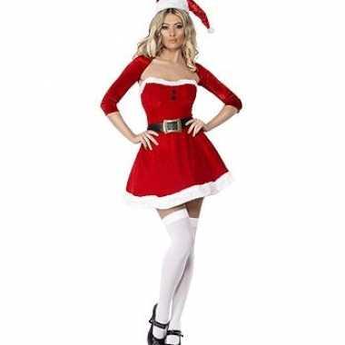 Sexy  Kerst jurk bolero outfit