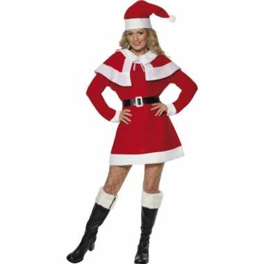 Sexy kerstjurkje cape outfit