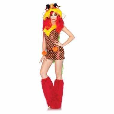 Sexy outfit draken jurkje