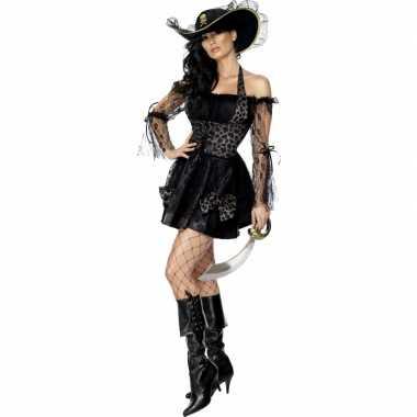 Sexy  Piraten outfit dames zwart