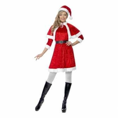 Sexy rode kerstjurkjes dames outfit