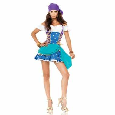Sexy  Zigeunerinnen jurkje dames outfit